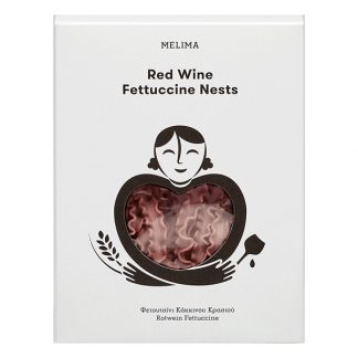 Φωλιές σγουρό φετουτσίνι κόκκινου κρασιού 250 γρ
