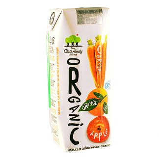 Χυμός 3 φρούτων βιολογικός Χριστοδούλου 250 ml