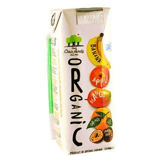 Χυμός 5 φρούτων βιολογικός Χριστοδούλου 250 ml