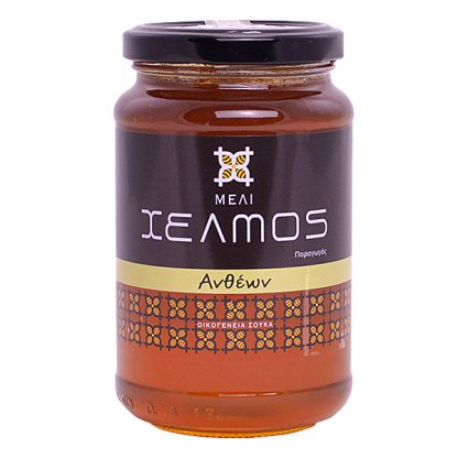 Μέλι ανθέων Χελμός 480 γρ