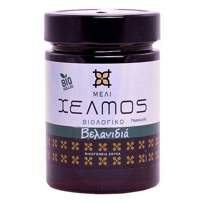 Μέλι βελανιδιάς βιολογικό Χελμός 480 γρ