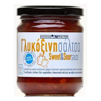 Wise Greece γλυκόξινη σάλτσα 200 γρ