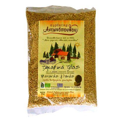 Τραχνάς γλυκός Ζέας ολικής βιολογικός Αντωνόπουλου 400 γρ