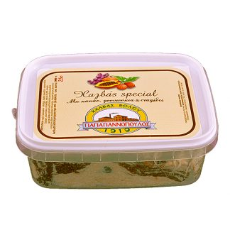 Χαλβάς special κακάο - φουντούκι - σταφίδες Παπαγιαννόπουλου 250 γρ