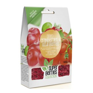 Cranberries - Goji Berries Super Berries 160 γρ