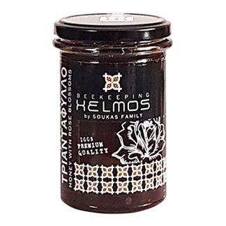 Μέλι με τριαντάφυλλο Χελμός 380 γρ
