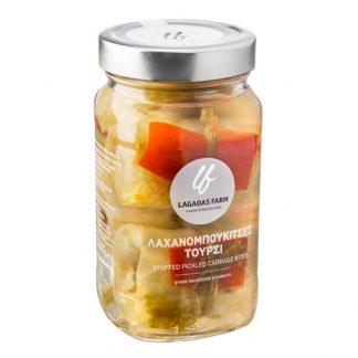 Λάχανο τουρσί γεμιστό Lagadas Farm 300 γρ