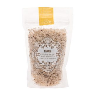 Θαλασσινό αλάτι με λεμόνι Nissos 250 γρ