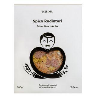 Πικάντικα ζυμαρικά Melima (χωρίς αυγά - Vegan) 500 γρ